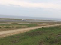 PEGASUS - Acil İniş İsteyen Ambulans Uçak Trabzon Havalimanı'na İniş Yaptı