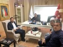 HÜSEYIN ERGÜN - AK Parti İl Başkanı Yanar, Tabipler Oda Başkanı Ergün'ü Ziyaret Etti
