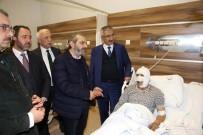 HITIT ÜNIVERSITESI - AK Partili Aslan'dan Geçmiş Olsun Ziyareti