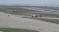 PEGASUS - Alman Ambulans Uçak Trabzon'a Acil İniş Yaptı