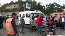 ÇOLAKLı - Antalya'da Trafik Kazası Açıklaması 8 Yaralı