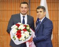 ALI ÇAKıR - Aydın Vergi Dairesi'nden Aydın Ticaret Borsası'na Ziyaret
