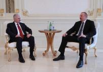 AZERBAYCAN CUMHURBAŞKANI - Başbakan Yıldırım, Cumhurbaşkanı Aliyev'le Görüştü