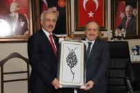 BAŞPEHLİVAN - Başkan Gül'den AK Parti'ye Ziyaret