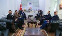 MESUT KARATAŞ - Başkan Gürkan ASKON'u Ağırladı