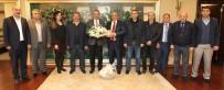 GEBZELI - Başkan Köşker, Pazarcılar Odası'nı Ağırladı