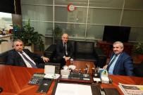 MUSTAFA BEKTAŞ - Başkan Yardımcısı Taş'a Ziyaretler Sürüyor