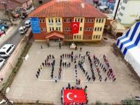 KATO DAĞı - Bedenleriyle Afrin Yazan Beytüşşebaplı Öğrencilerden Mehmetçiğe Destek