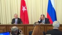 REX TILLERSON - Çavuşoğlu-Lavrov Ortak Basın Toplantısı