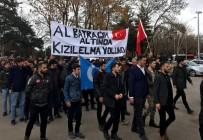 ATATÜRK ÜNIVERSITESI - Erzurum'da Binlerce Üniversiteli Afrin İçin Yürüdü