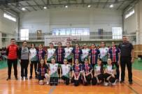 HALIÇ - Eyüpsultan'da 'Okullar Arası Voleybol Turnuvası' Başladı