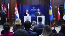 SERBEST DOLAŞIM - Hırvatistan Dışişleri Bakanı Buric Kosova'da