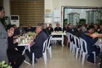 MANEVI TATMIN - Kaymakam Demirhan'a Veda Yemeği