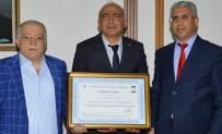 NECATI ŞENTÜRK - Matematik Ve Fen Bilimleri Eğitimi Bölüm Başkanı Doç. Dr. Abdullah Aydın, Vali Şentürk'ü Ziyaret Etti