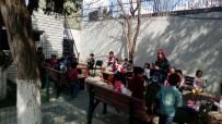MEHMET ERDOĞAN - Minik Öğrencilerden Jandarmaya Zeytin Dalı Ziyareti