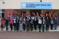 ERKAN YİĞİT - Öğrencilerden Zeytin Dalı Harekâtı'na Destek