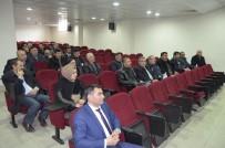 HATİCE BAYAR - Refahiye'de 'Arazi Toplulaştırma Projeleri' Toplantısı Yapıldı