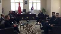 ALI KıLıÇ - Rektör Yılmaz'dan Naci Topçuoğlu MYO'na Ziyaret
