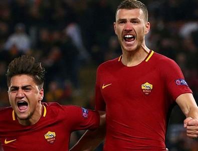 Roma çeyrek finalde