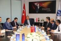 RUSYA FEDERASYONU - Rusya Federasyonu Türkiye Ticaret Mümessilliğinden KAYSO'ya Ziyaret