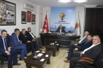 MEHMET ERDOĞAN - Saadet Partisi Yönetimi Erdoğan İle Bir Araya Geldi