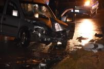 HASAN ŞEKER - Sinop'ta Trafik Kazası Açıklaması 2 Yaralı