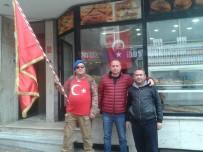 EDIRNEKAPı - Sırtında Türk Bayrağı İle Çanakkale'ye Yürüyor
