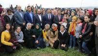 HASAN BASRI GÜZELOĞLU - Tenzile Erdoğan Hatıra Ormanına Fidanlar Dikildi