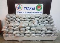 TRAKYA - Tır Dorsesinden '5 Milyonluk' Uyuşturucu Çıktı