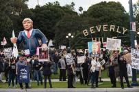 CUMHURİYETÇİ PARTİ - Trump Kaliforniya'da Protesto Edildi