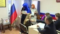 EGE BÖLGESI - Türkiye'deki Rus Vatandaşları Sandık Başında
