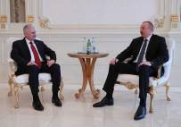 AZERBAYCAN CUMHURBAŞKANI - Yıldırım Azerbaycan Cumhurbaşkanı Aliyev'le Görüştü