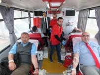 Yozgat Şehir Hastanesi Çalışanları, Zeytin Dalı Harekatı'na Destek İçin Kan Bağışında Bulundu