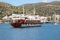 GULET - Yunanistan'ın Rehin Aldığı Milyon Dolarlık Türk Teknesi Bodrum'a Geldi
