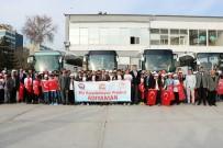 NACI KALKANCı - Adıyamanlı Öğrenciler Konya'ya Uğurlandı