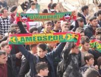 ALI AKÇA - Amed Sportif'in maçına taraftar yasağı geldi