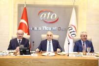 İSMAİL ŞANLI - Bakan Fakıbaba, ATO'da Yem Ve Hayvancılık Sektör Temsilcileriyle Buluştu