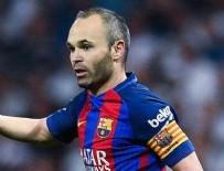 BARCELONA - Barcelona kaptanı Iniesta'dan 'Çin' açıklaması