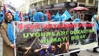 DOĞU TÜRKISTAN - Beyoğlu'nda 700 Kişi  Doğu Türkistan İçin Yürüdü