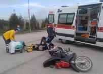 ALPARSLAN TÜRKEŞ - Beypazarı'nda Trafik Kazası 1 Yaralı