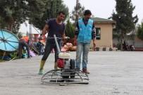 GENÇLIK PARKı - Ceylanpınar'da Çocuk Oyun Parkları Yenileniyor