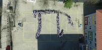 MATEMATIK - Dünya Pİ Günü Öğrenciler Tarafından Pİ Sembolü Oluşturularak Kutlandı