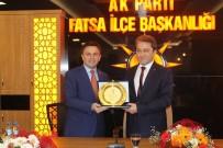 DEVİR TESLİM - Fatsa AK Parti'de Devir Teslim Töreni