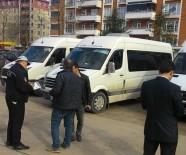 TRAFİK GÜVENLİĞİ - Fatsa'da Polis Okul Servis Araçlarını Denetledi