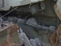 SİLAH DEPOSU - İşte PKK'/YPG'nin silah deposu