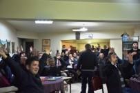 MADDE BAĞIMLILIĞI - 'Kahveli Bilinçlendirme Eğitimlerinin' Altıncısı Yapıldı