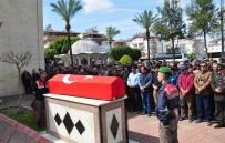 ASKERİ PERSONEL - Kalp Krizi Sonucu Hayatını Kaybeden Uzman Çavuş Antalya'da Toprağa Verildi
