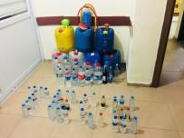 SAHTE İÇKİ - Mersin'de Sahte İçki Operasyonu