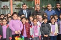 GERİ DÖNÜŞÜM - Öğrencilerden 'Geri Dönüşümden Çiçek Bahçesi Projesi'