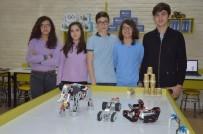 ERDOĞAN BEKTAŞ - Ortaokul Öğrencilerinden İnsansız Keşif Kara Aracı